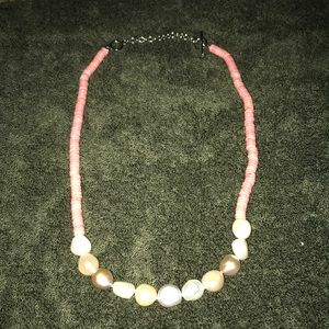 Sterling Silver 9-11 mm Cultured Pearl Necklace